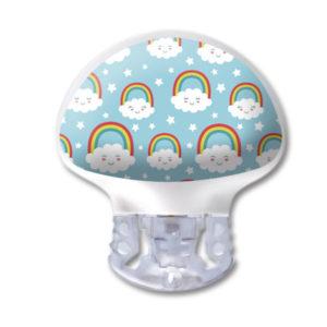 Medtronic Guardian 3 Transmitter Kinder Sticker Regenbogen Wolke wasser- und kratzfest von www.zuckerschmuck.com