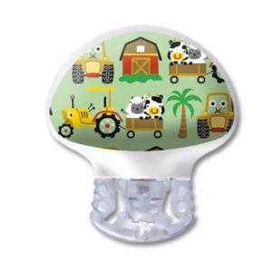 Medtronic Guardian 3 Transmitter Kinder Sticker Bauernhof Farm Tiere wasser- und kratzfest von www.zuckerschmuck.com