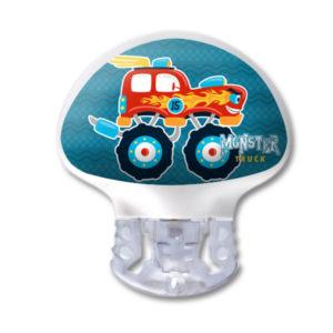 Medtronic Guardian 3 Transmitter Kinder Sticker Monster Truck wasser- und kratzfest von www.zuckerschmuck.com