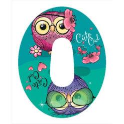 Dexcom G6 Design Motiv Fixierungstapes- Pflaster Flamingo günstig kaufen bei www.zuckerschmuck.com