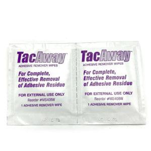 Klebstoff-Entferner Tücher - Tac Away Wipes - Probierset mit 2 St.