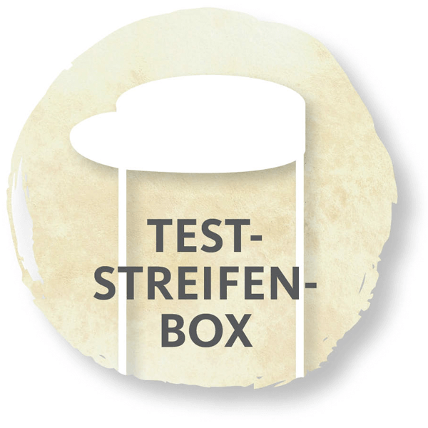 Teststreifen, Teststreifenbox, Teststripbox, Stripbox, Freestyle, Sticker, Patches