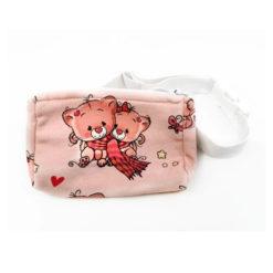 Insulinpumpentasche mit flexiblem Bauchgurt Kitty Katze günstig kaufen bei www.zuckerschmuck.com