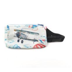 Insulinpumpentasche mit flexiblem Bauchgurt Flugzeug günstig kaufen bei www.zuckerschmuck.com